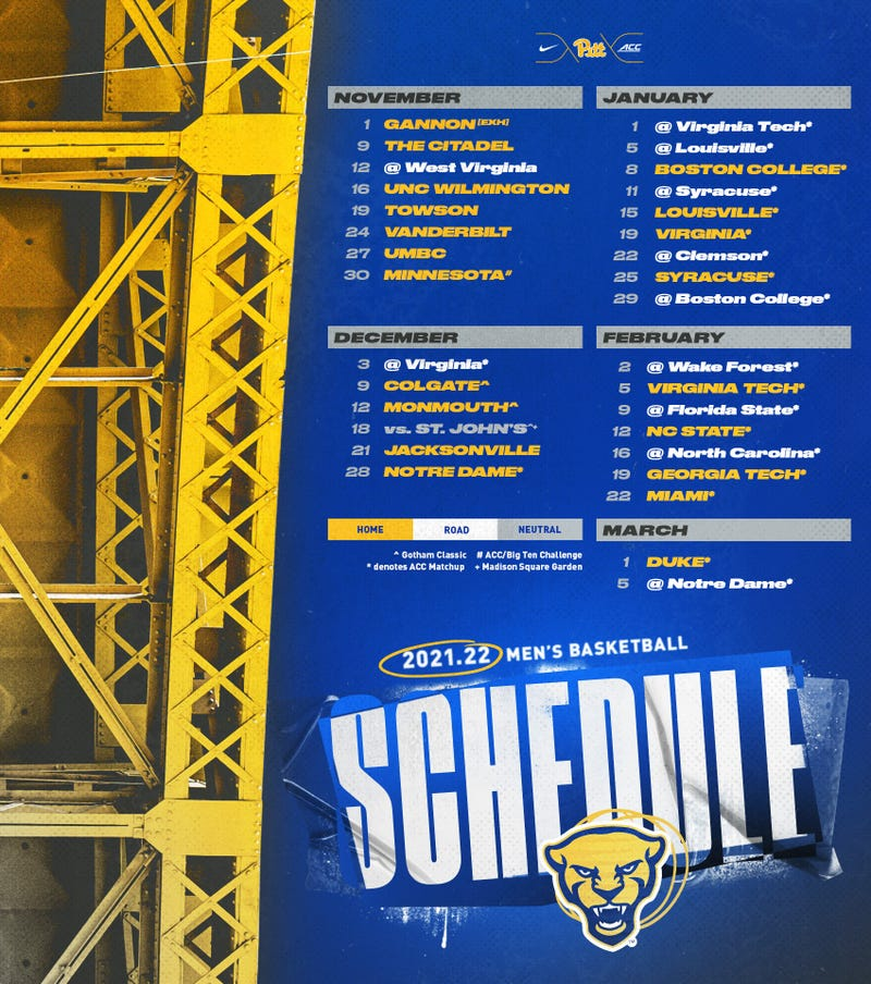 Panthers schedule