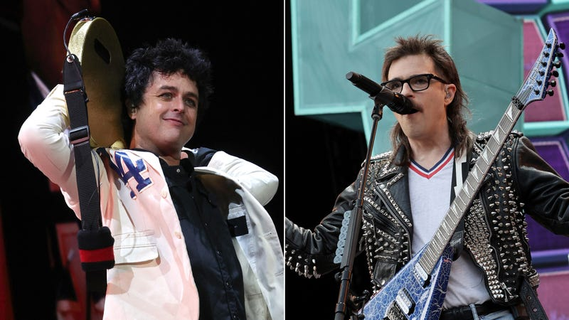 Billie Joe Armstrong and Rivers Cuomo