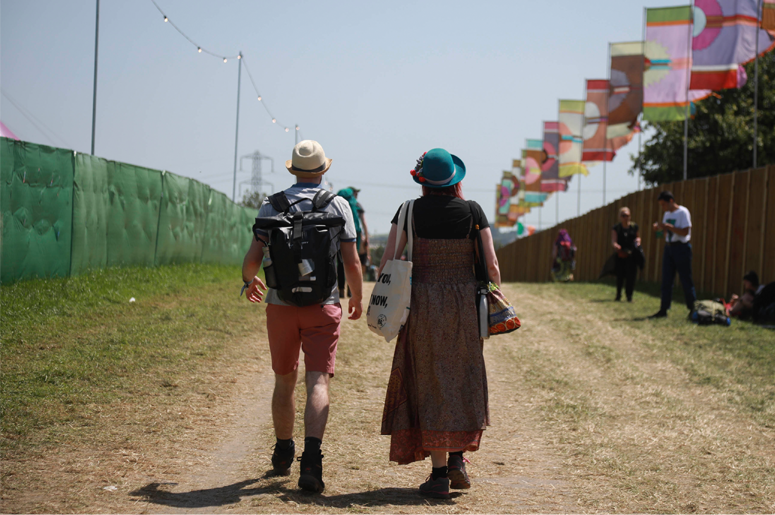 Glastonbury Festival on June 27th 2019 in Glastonbury, Somerset, United Kingdom.