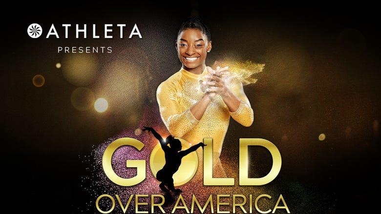 Athleta Presents: Gold Over America Tour starring Simone Biles