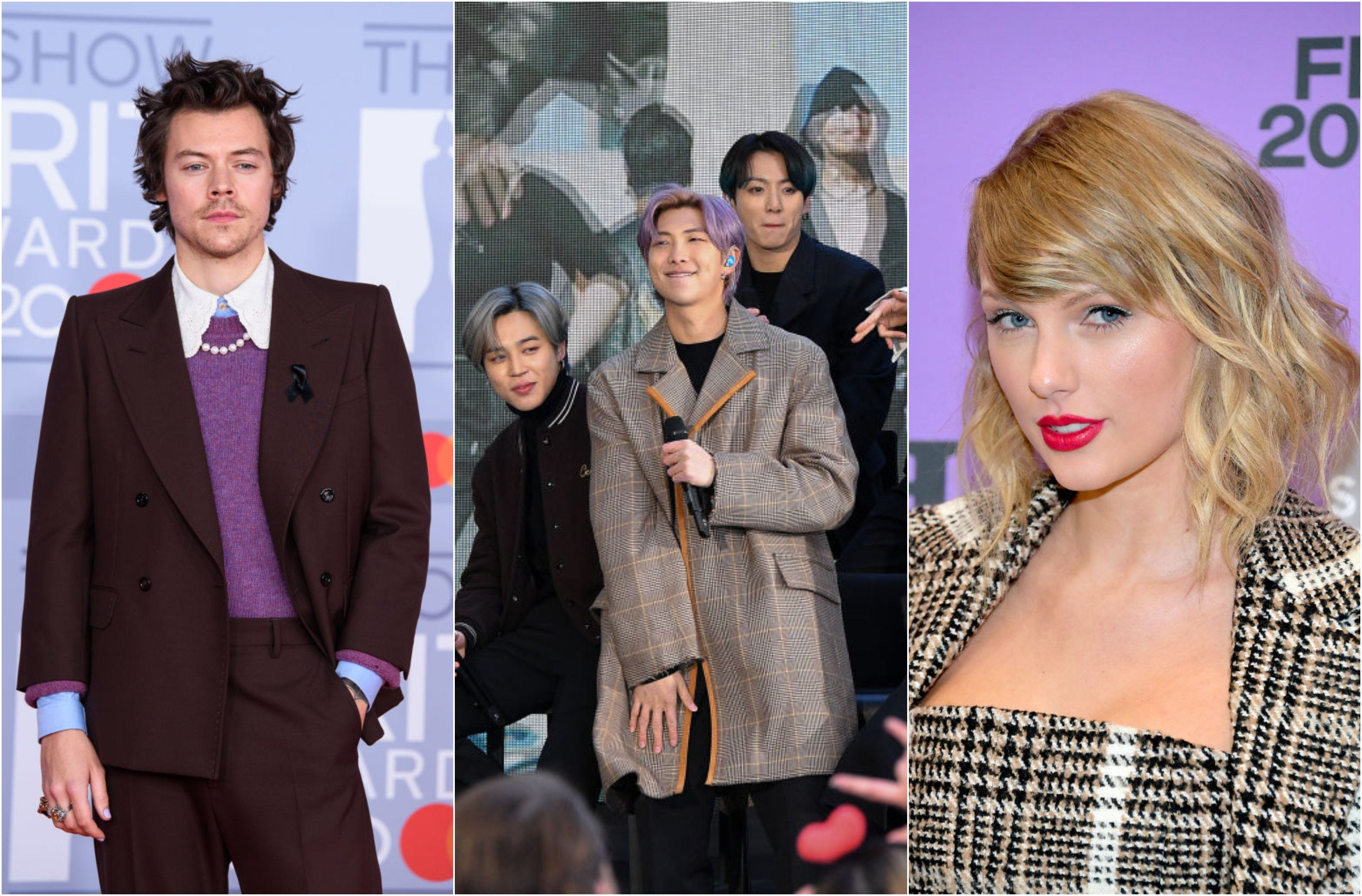 Taylor Swift, BTS, and more performing at 2021 GRAMMY Awards