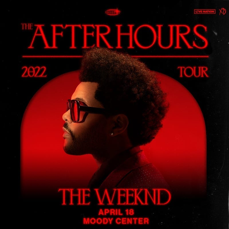 weeknd moody center cancelled