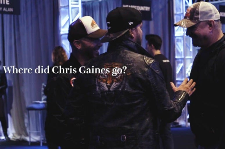 LOCASH question Garth Brooks about Chris Gaines
