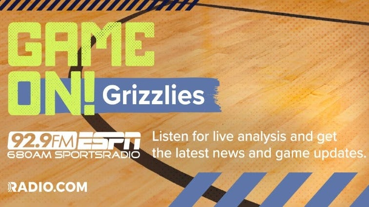 Grizzlies vs Thunder Friday at 3:00pm on 92.9FM ESPN
