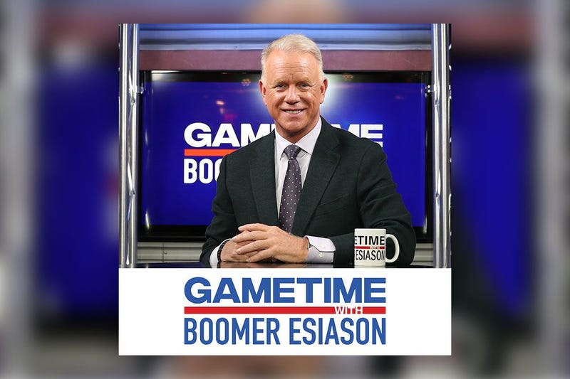 Boomer Esiason hosts prominent guests both in and out of the sports realm.