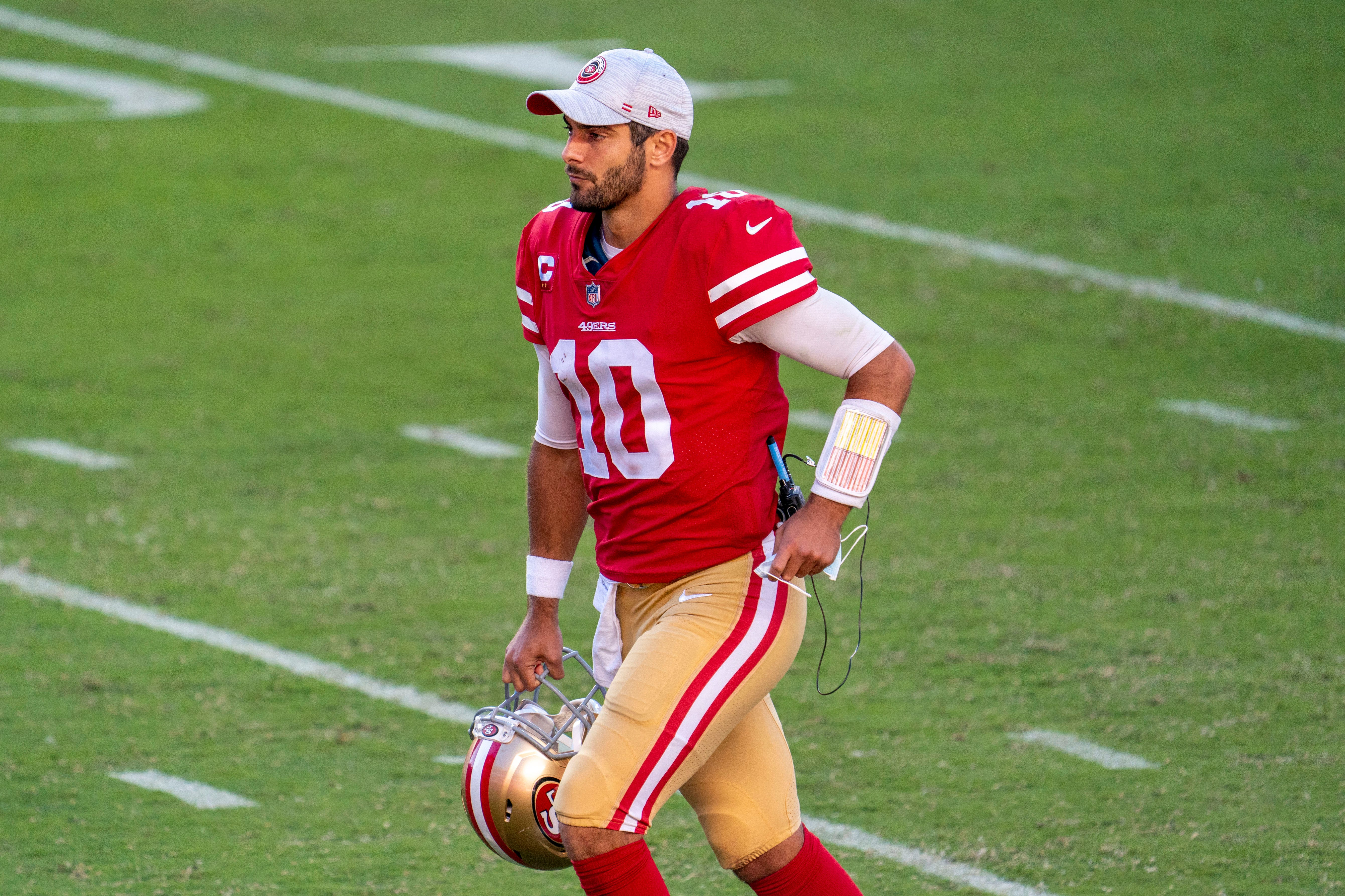 Kyle Shanahan: It was 'really fun' working with Bill Belichick during Jimmy Garoppolo trade