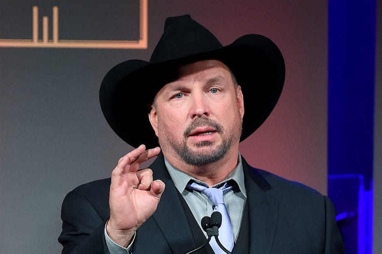 Garth Brooks attends The George H.W. Bush Points Of Light Awards Gala