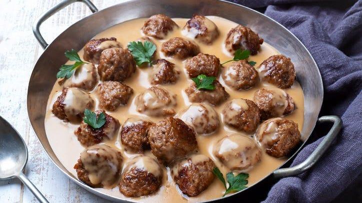 IKEA Shares Recipe for Its Swedish Meatballs