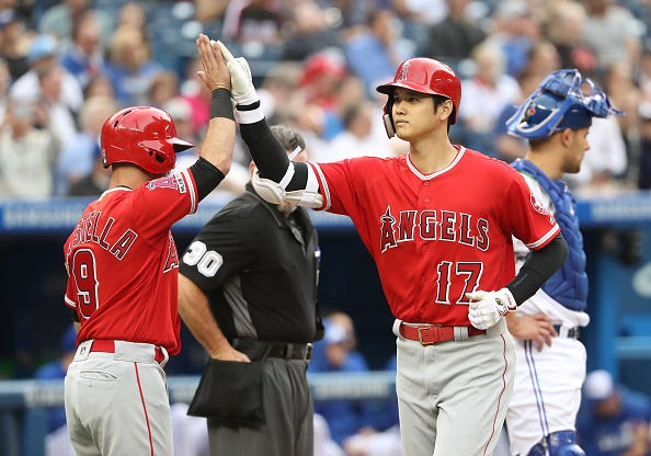 competitive price 78518 9991d Big Time Baseball' Podcast on Angels DH Shohei Ohtani's ...