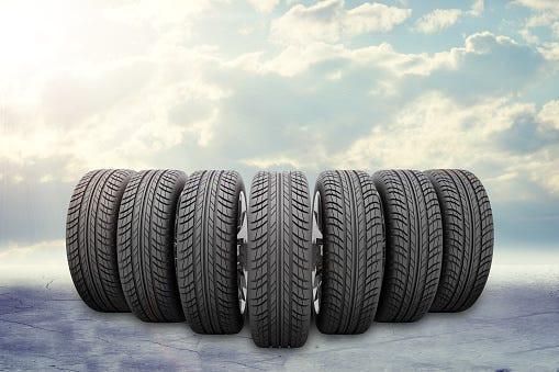 smart tires in the sky