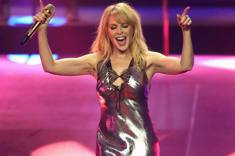 Kylie Minogue Performs Previously Unreleased Disco Song at Intimate