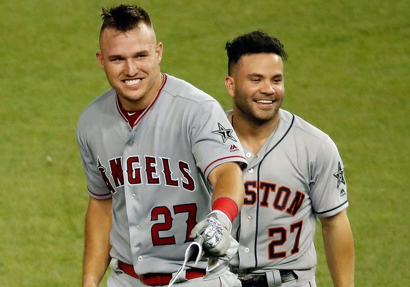 Mike Trout and Jose Altuve