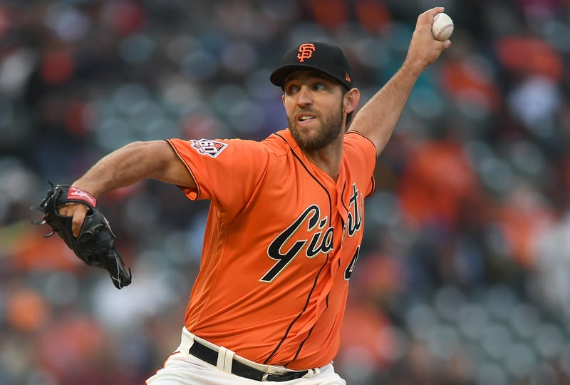 Madison Bumgarner has spent his entire career with the Giants.