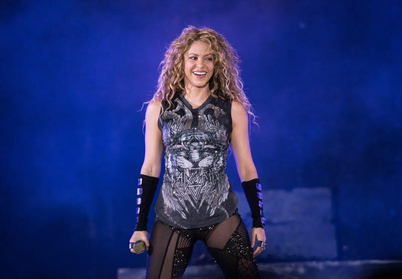 Shakira en el escenario