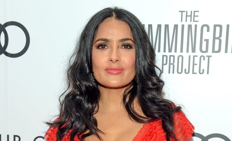 """Salma Hayek attends the Cactus Club Cafe and Audi Celebrate """"The Hummingbird Project"""""""