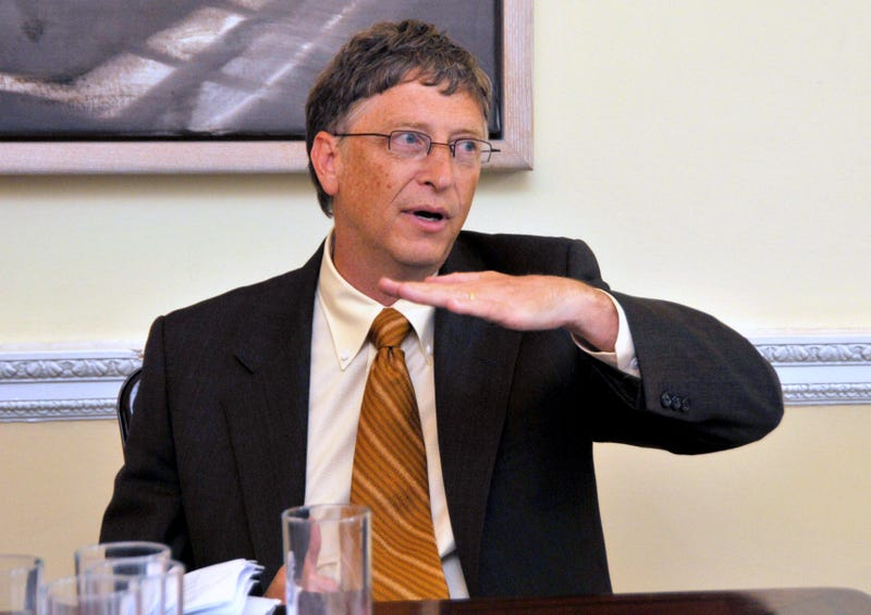 bill gates flatlines hand motion