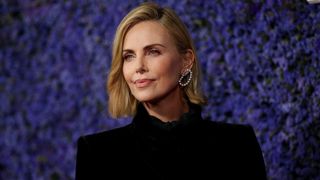 Charlize Theron Gives Rare Glimpse at Daughters as She Celebrates 45th Birthday Virtually