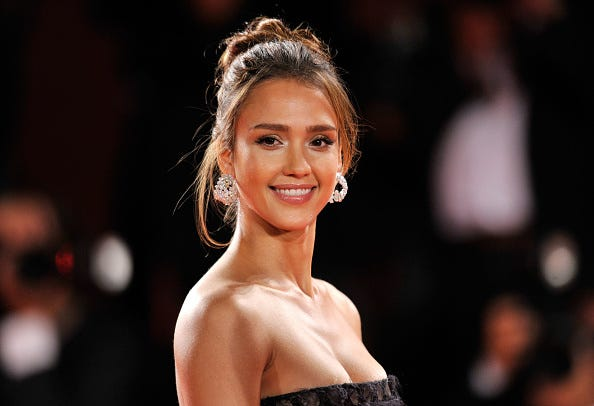 "Actress Jessica Alba attends the ""Machete"" premiere during the 67th Venice Film Festival at the Sala Grande Palazzo Del Cinema on September 1, 2010 in Venice, Italy."