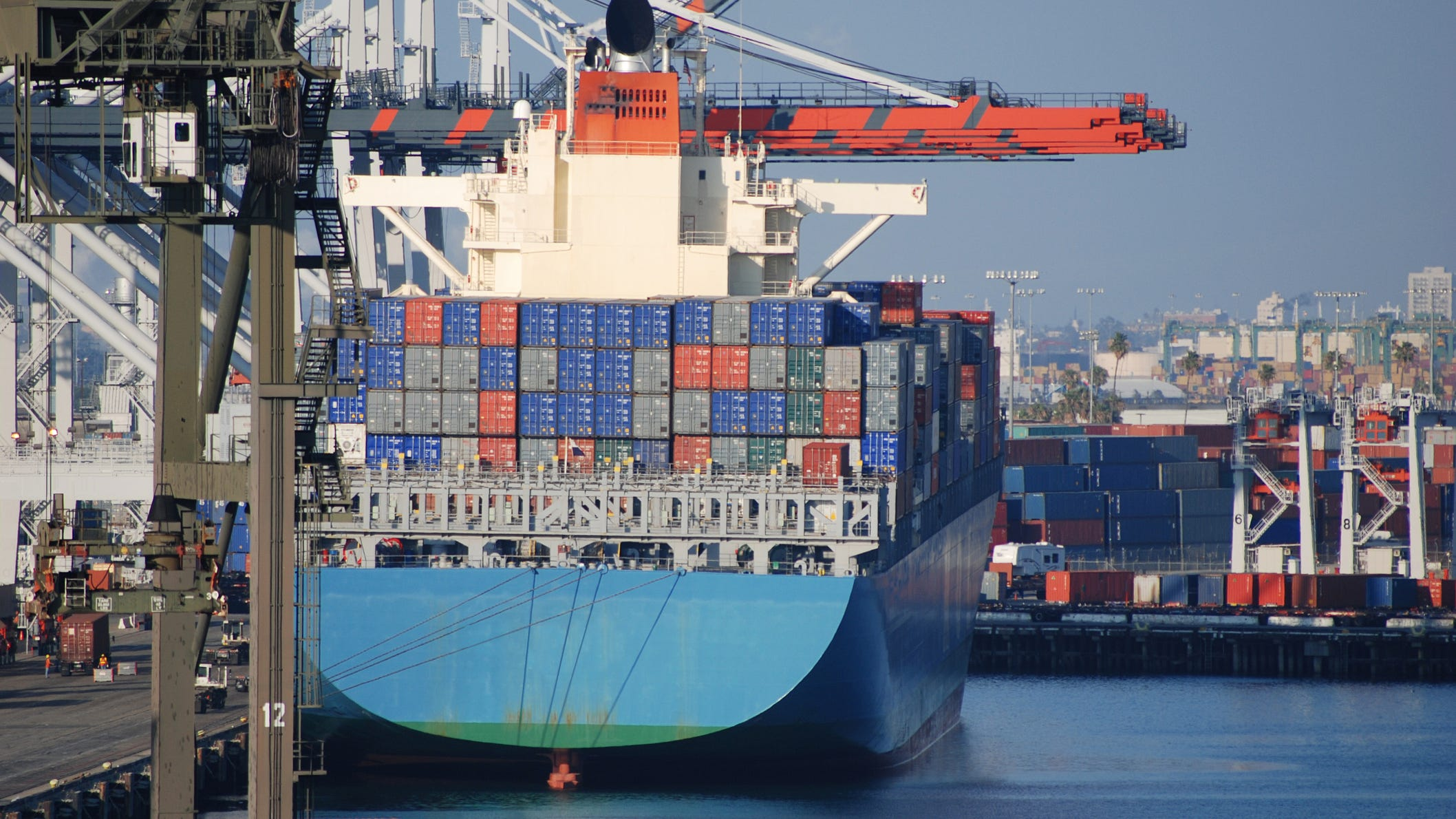 Biden: Port of L.A. to operate 24/7 to reduce supply chain gridlock