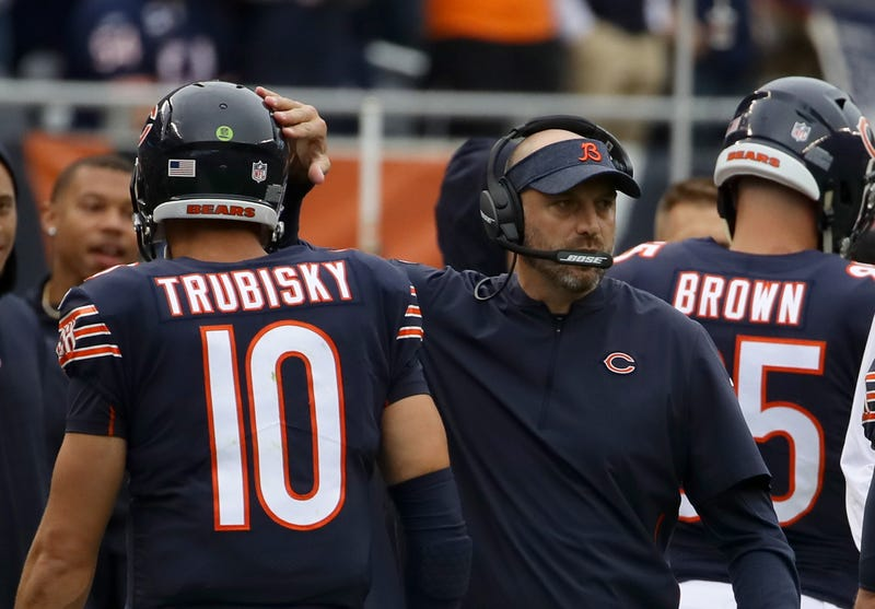 Mitchell Trubisky and Matt Nagy have had a difficult 2019 season.