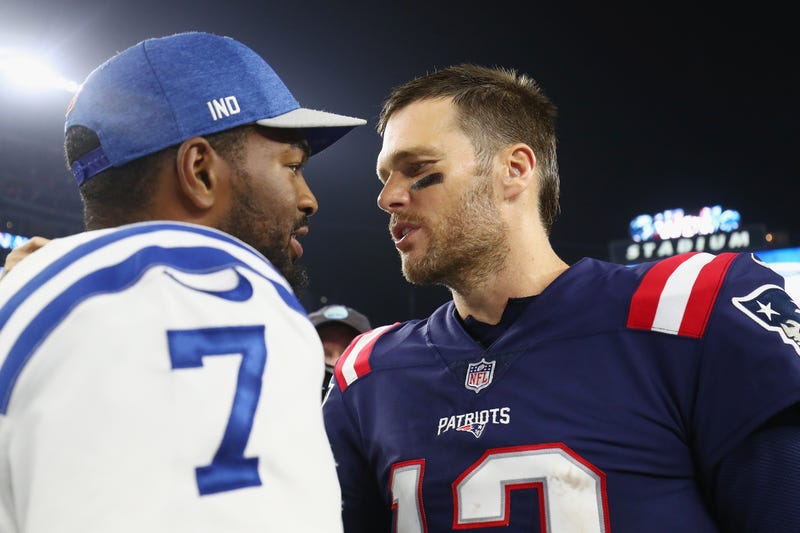 Jacoby Brissett, Tom Brady