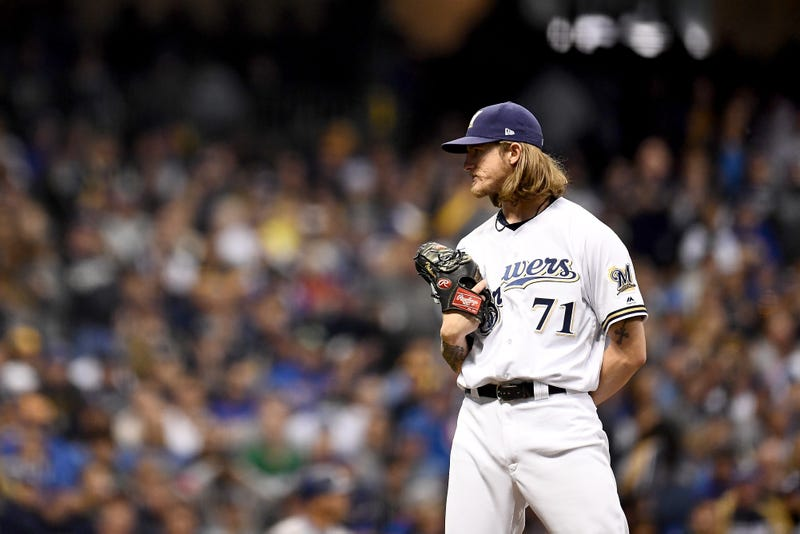 Josh Hader would bolster the Dodgers' bullpen.
