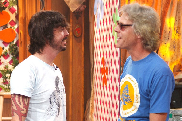 Dave Grohl and Stewart Copeland