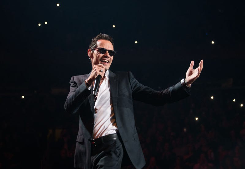 Marc Anthony in concert at Madison Square Garden