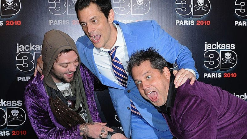 Bam Margera, Johnny Knoxville, Jeff Tremaine
