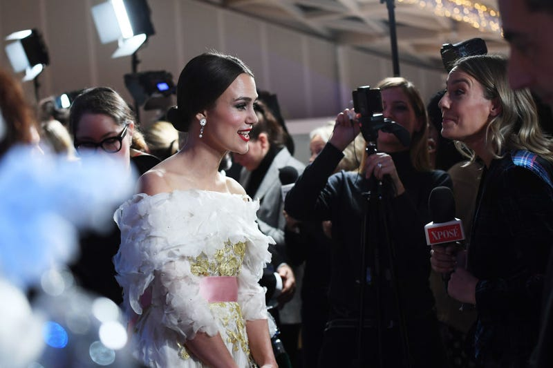 Knightley at the UK premiere of Disney's 'The Nutcracker and the Four Realms' in 2018