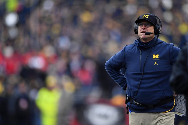 Jim Harbaugh has angered Luke Fickell.