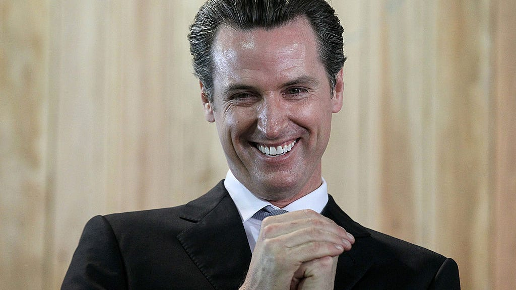 Gov. Newsom turns 10 vaccinated Californians into instant millionaires