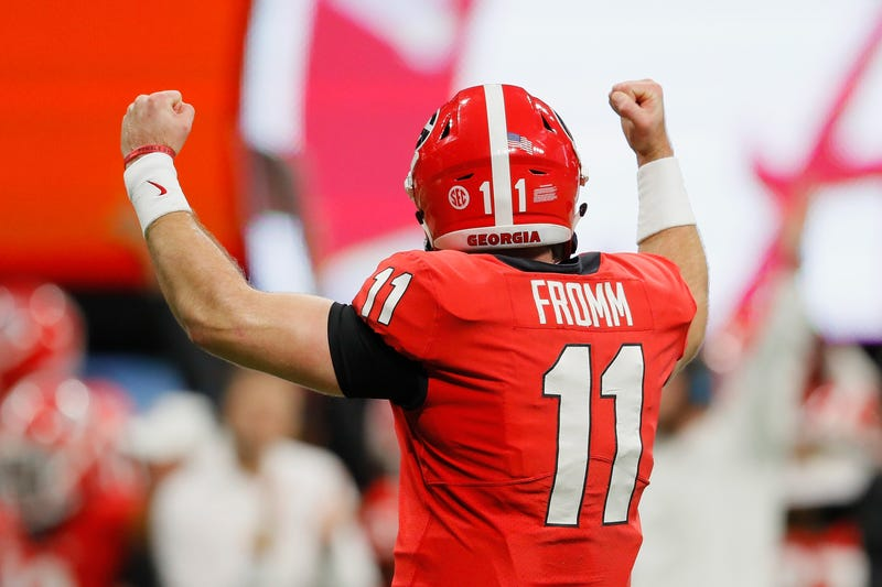Georgia QB Jake Fromm failed to distinguish himself at the NFL Combine in February