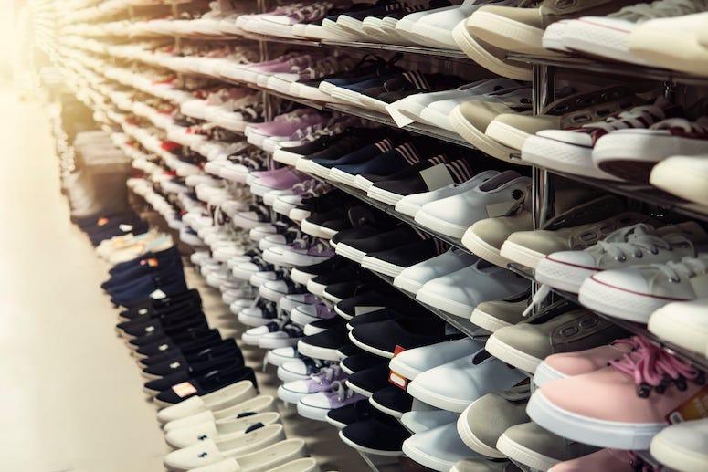 Shoes, Shoe Rack, Store