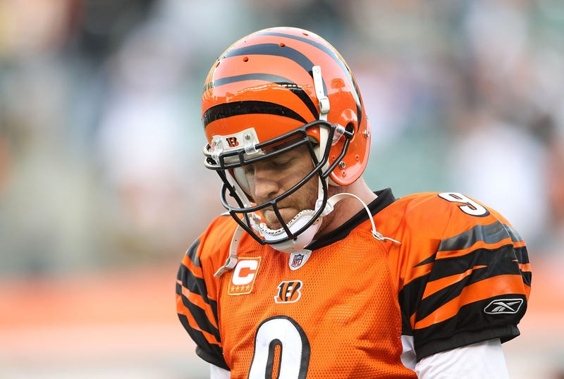 Carson Palmer preferred retirement to playing another game for the Bengals