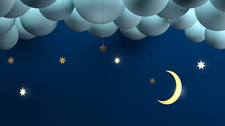 Moonbeams for Sweet Dreams