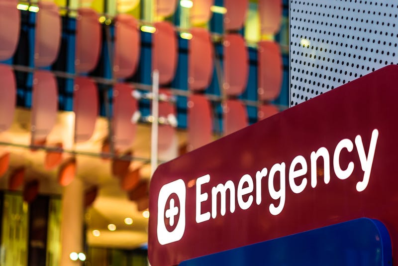 CFD paramedic grazed by bullet while working on patient at Stroger Hospital; 1 killed, 1 wounded