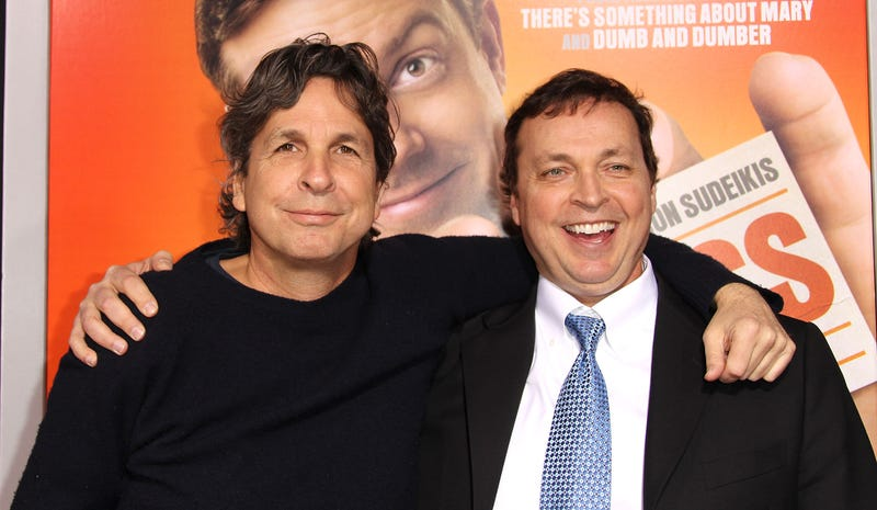 the farrelly brothers at the premiere of hall pass