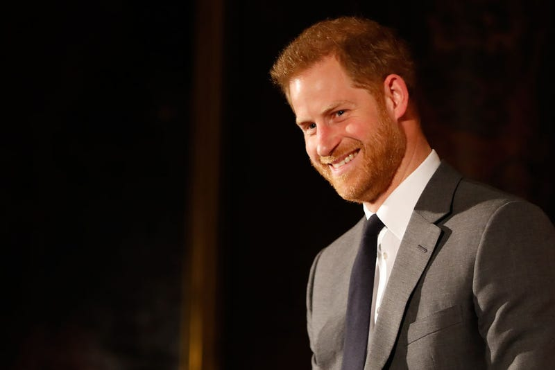 Prince Harry Tears Up While Speaking About Being a Dad at Awards Show
