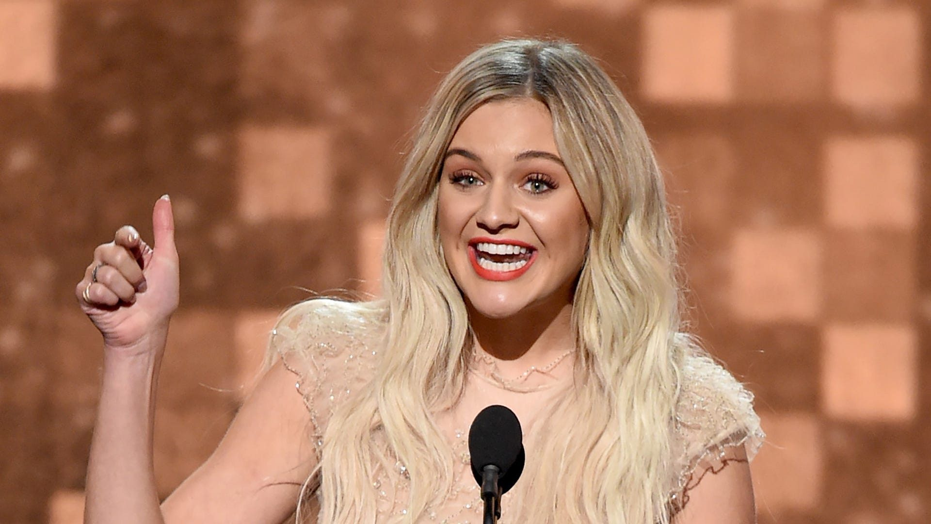 What Country singers would Kelsea Ballerini choose for an all-female cabinet and presidency?