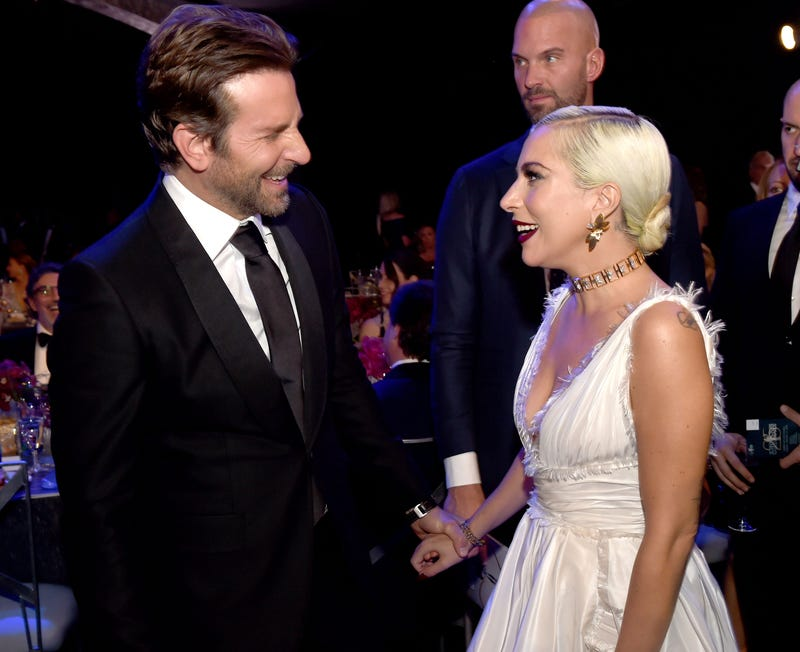 Bradley Cooper and Lady Gaga attend the 25th Annual Screen Actors Guild Awards