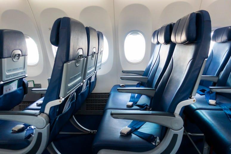 Airplane Seats, Empty