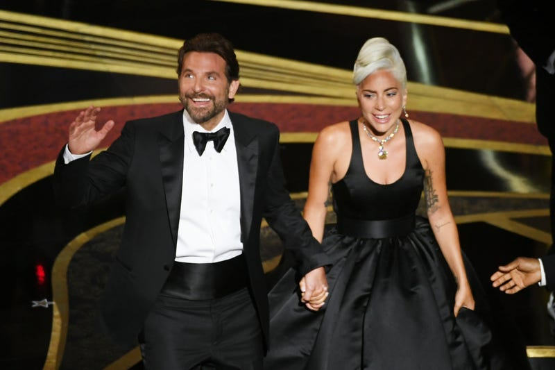 Bradley Cooper and Lady Gaga perform onstage during the 91st Annual Academy Awards