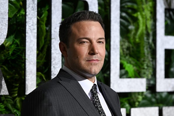 Ben Affleck walks the red carpet for his newest movie.
