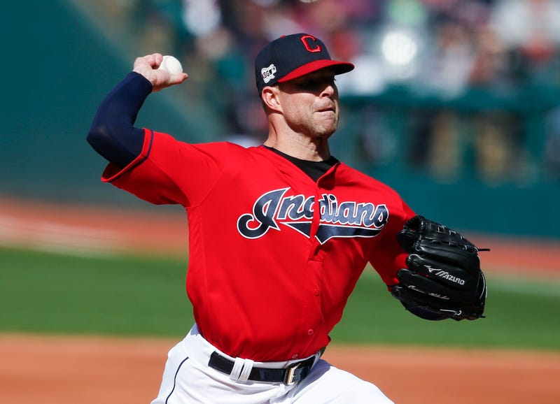 The Indians traded Corey Kluber.