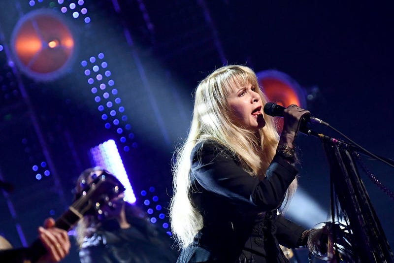 nductee Stevie Nicks performs at the 2019 Rock & Roll Hall Of Fame Induction Ceremony