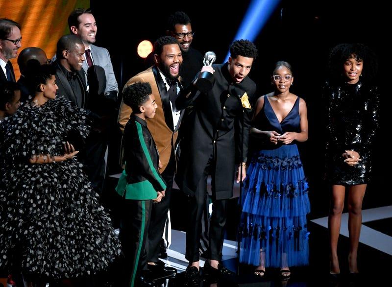 "The cast of ""Black-ish"""