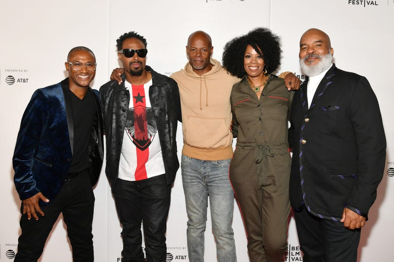 Tommy Davidson, Shawn Wayans, Keenen Ivory Wayans, Kim Wayans and David Alan Grier at tribeca film festival