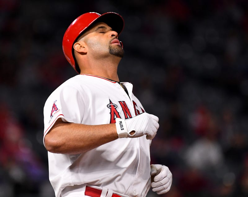 Albert Pujols' stint in Los Angeles has largely been unsuccessful.