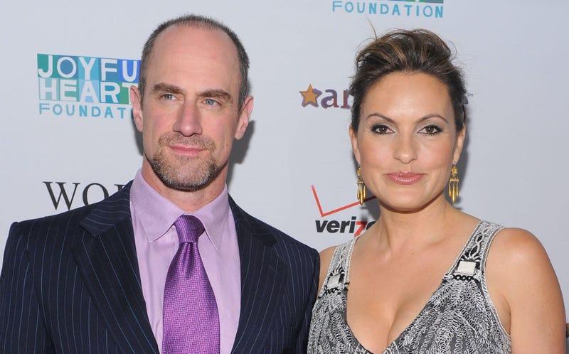 Actors Christopher Meloni and Mariska Hargitay attend the 2011 Joyful Heart Foundation Gala at The Museum of Modern Art